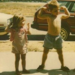 One of my favorite pictures of my brother and I- circa 1989.