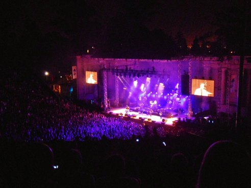 Mumford and Sons at Berkeley's Greek Theatre!