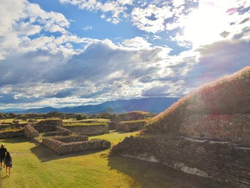 monte alban in oaxaca, MX.